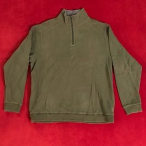 Paradise Collection Quarter-Zip Sweater (Green)